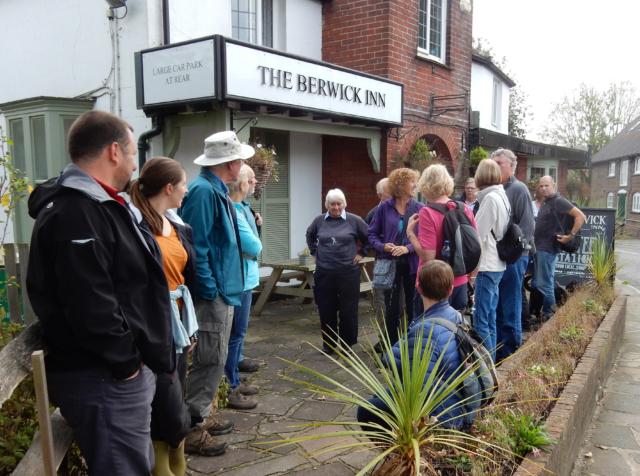 The Berwick Inn next to Berwick railway station