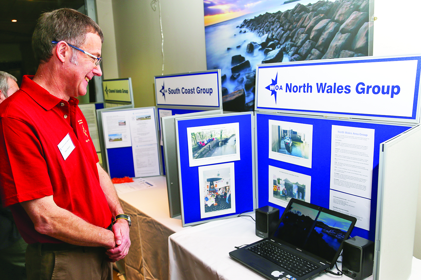 WOA North Wales Group stand