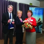 George and Jill Pickburn are presented with life membership