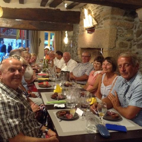 Dinner at Restaurant Les Terre-Neuvas