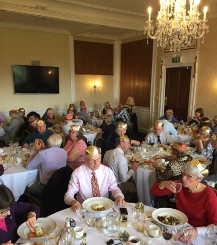 An elegant dining experience at the Exeter Golf Club